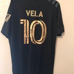 adidas Shirts - LAFC # 10 VELA JERSEY